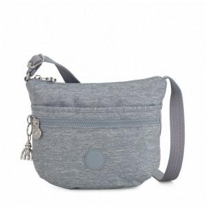 Kipling Small crossbody Cool Denim [ Soldes ]