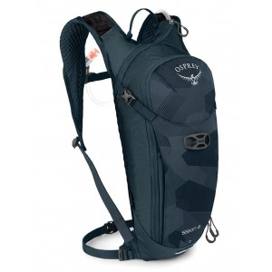 Osprey Sac à dos Polyvalent - Siskin 8 Slate Blue Pas Cher