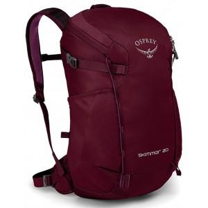 Osprey Sac de randonnée Femme - Skimmer 20 Plum Red [ Soldes ]