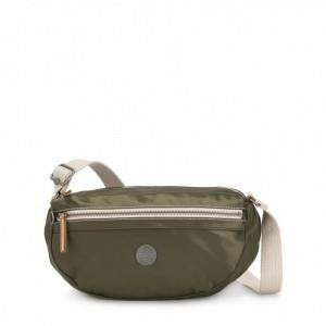 Kipling Petit sac à bandoulière avec bretelle réglable Elevated Green [ Soldes ]