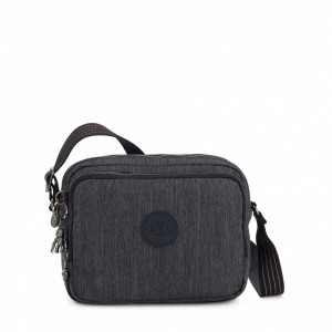 Kipling Small crossbody Active Denim [ Soldes ]