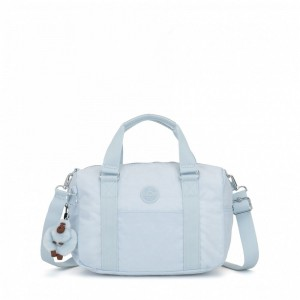 Kipling Medium handbag Fainted Blue [ Soldes ]