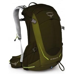 Osprey Sac de randonnée homme - Stratos 24 Gator Green - Marque [ Soldes ]