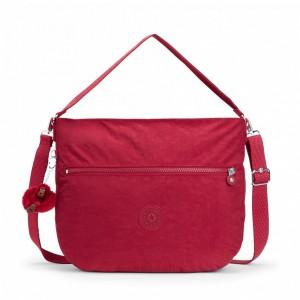 Kipling Sac Épaule avec Bandoulière Amovible Radiant Red C [ Promotion Black Friday 2020 Soldes ]