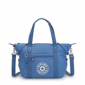 Kipling Sac Cabas avec Sangle Détachable Dynamic Blue [ Soldes ]