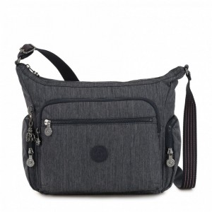 Kipling Medium crossbody Active Denim [ Soldes ]