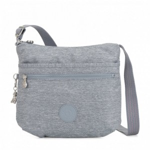 Kipling Medium crossbody Cool Denim [ Soldes ]