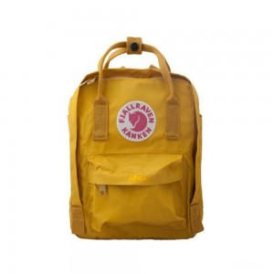 FJALLRAVEN Kanken - Sac à dos - Mini beige/marron Marron [ Promotion Black Friday 2020 Soldes ]