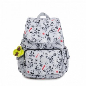 Kipling Sac à dos moyen Sketch Grey [ Promotion Black Friday 2020 Soldes ]