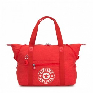 Kipling Sac Cabas Medium avec 2 Poches Frontales Active Red NC [ Promotion Black Friday 2020 Soldes ]