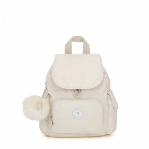Kipling Sac à Dos City Pack Mini Dazz White Pas Cher