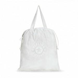 Kipling Sac Cabas Déperlant Lively White [ Promotion Black Friday 2020 Soldes ]