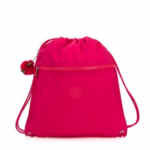 Kipling Grand Sac à Cordon True Pink [ Promotion Black Friday 2020 Soldes ]