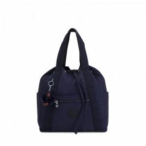 Kipling Petit sac à dos avec cordon de serrage Active Blue