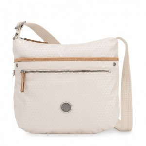 Kipling Sac épaule Bandoulière Triangle White [ Promotion Black Friday 2020 Soldes ]