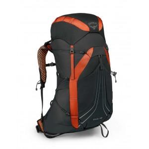Osprey Sac à dos de randonnée/trekking homme, Exos 48  Blaze Black [ Promotion Black Friday 2020 Soldes ]