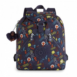 Kipling Sac à Dos Medium à Cordon Bright Light [ Promotion Black Friday 2020 Soldes ]