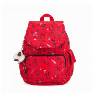 Kipling Sac à dos moyen Sketch Red