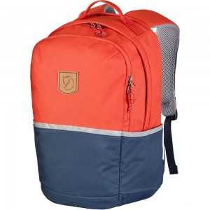 FJALLRAVEN High Coast - Sac à dos Enfant - orange/bleu Orange Pas Cher