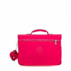 Kipling Sac D'école Medium True Pink Pas Cher