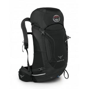 Osprey Sac de randonnée homme - Kestrel 28 Ash Grey - Marque Pas Cher