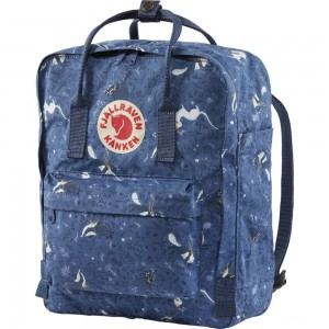 FJALLRAVEN Kånken Art - Sac à dos - bleu Bleu [ Promotion Black Friday 2020 Soldes ]