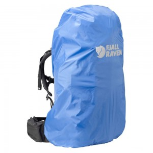 FJALLRAVEN Rain Cover - 40-55 l bleu Bleu [ Promotion Black Friday 2020 Soldes ]