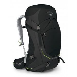 Osprey Sac à dos de randonnée homme - Stratos 50 Black - Marque Pas Cher