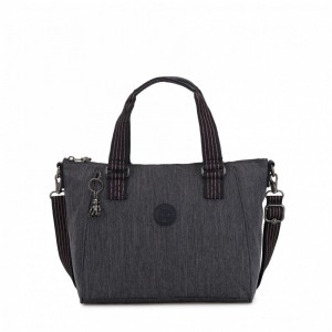 Kipling Medium handbag (with removable shoulderstrap) Active Denim [ Soldes ]