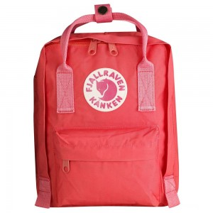 FJALLRAVEN Kånken - Sac à dos Enfant - rose/rouge Rouge [ Promotion Black Friday 2020 Soldes ]