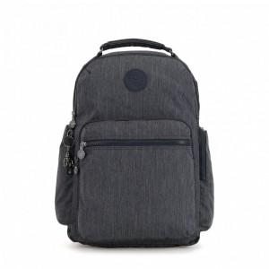 Kipling Grand sac à dos avec poches d'organisation Active Denim Pas Cher