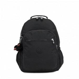 Kipling Grand Sac à Dos avec Protection pour Ordinateur Portable True Black [ Promotion Black Friday 2020 Soldes ]