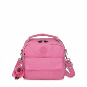 Kipling Small handbag (convertible to backpack) Posey Pink [ Soldes ]