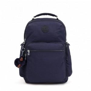 Kipling Grand sac à dos avec poches d'organisation Active Blue Pas Cher