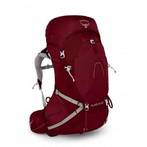 Osprey Sac à dos de randonnée/trekking femme, Aura AG 50  Gamma Red Pas Cher