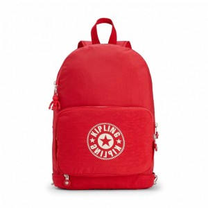 Kipling Sac Cabas avec Sangle Détachable Lively Red Pas Cher