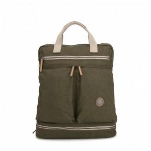 Kipling Sac à dos moyen avec protection pour laptop Urban Khaki [ Soldes ]