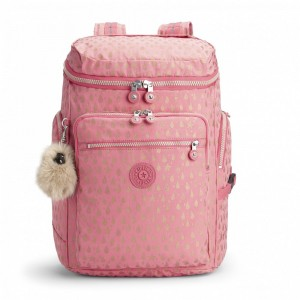 Kipling Grand Sac à Dos Pink Gold Drop [ Soldes ]