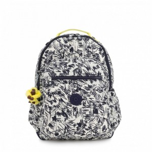 Kipling Grand Sac à Dos avec Protection pour Ordinateur Portable Scribble Fun Bl [ Promotion Black Friday 2020 Soldes ]