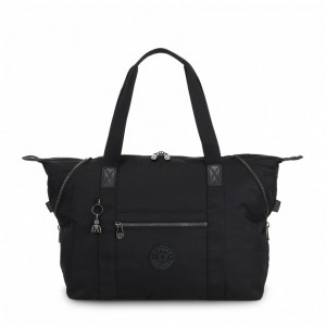 Kipling Medium tote Rich Black [ Soldes ]