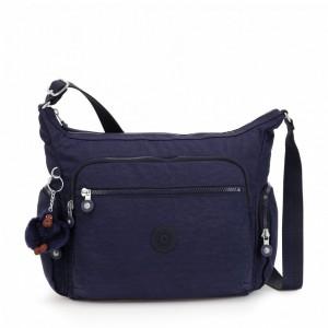 Kipling Sac épaule Medium Avec Bretelle Ajustable Active Blue [ Soldes ]