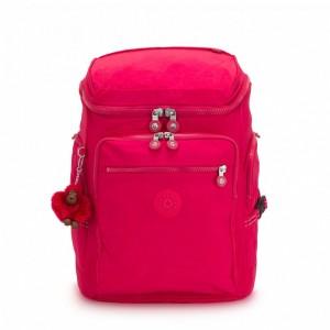Kipling Grand Sac à Dos True Pink [ Soldes ]