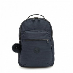 Kipling Grand Sac à Dos Avec Protection Pour Ordinateur Portable True Dazz Navy