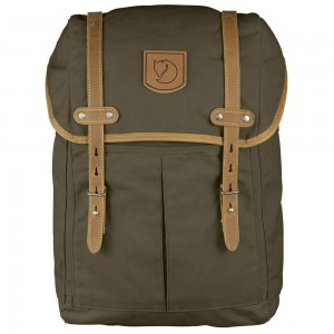 FJALLRAVEN No. 21 - Sac à dos - Medium olive Olive [ Soldes ]