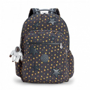 Kipling Grand Sac à Dos avec Protection pour Ordinateur Portable Fun Star Boy