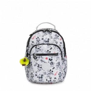 Kipling Petit sac à dos avec protection pour tablette Sketch Grey Pas Cher