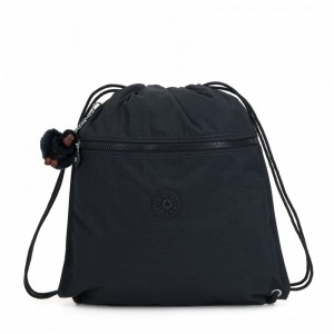 Kipling Grand Sac à Cordon True Navy [ Soldes ]