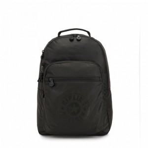 Kipling Sac à Dos Medium avec Compartiment pour Ordinateur Raw Black [ Promotion Black Friday 2020 Soldes ]