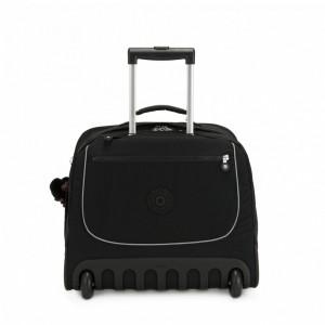 Kipling Grand Sac D'école avec Protection pour Ordinateur Portable True Black Pas Cher