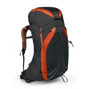 Osprey Sac à dos de randonnée/trekking homme, Exos 58  Blaze Black [ Soldes ]